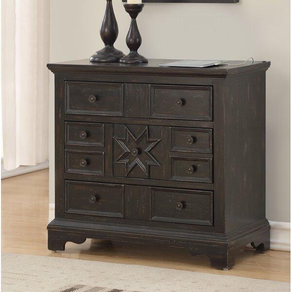 Eward 3 Drawer Dresser/Chest by Bloomsbury Market