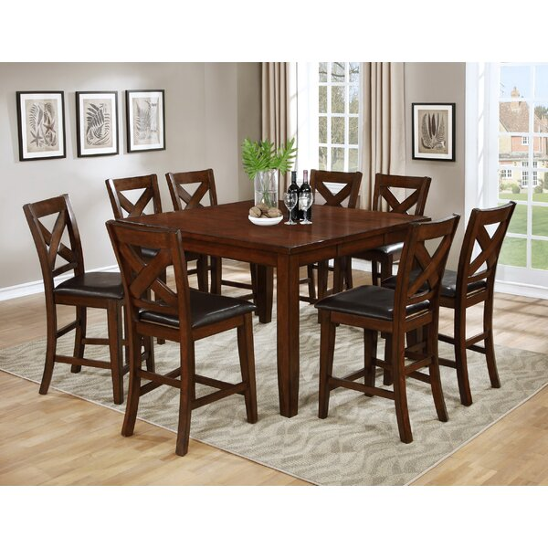 Jovany 9 Piece Pub Table Set by Red Barrel Studio