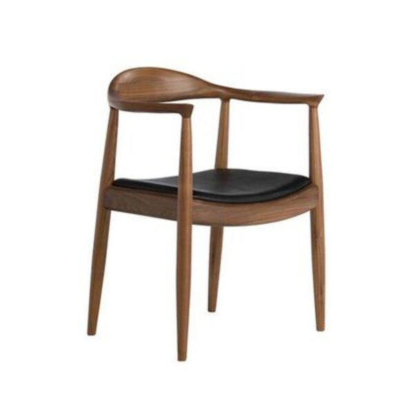 Lappin Arm Chair in Black by George Oliver George Oliver