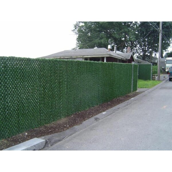 Chainlink Hedge Slats Privacy Screen by e-Joy