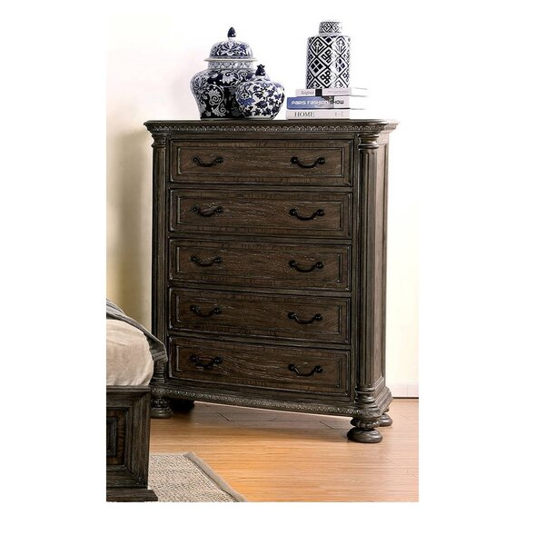 Dugan 5 Drawer Chest by Canora Grey
