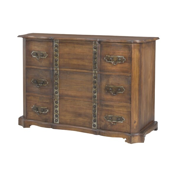 Vance 3 Drawer Standard Dresser by World Menagerie