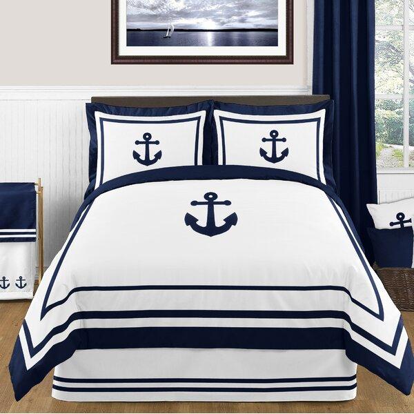 Anchors Away 3 Piece Comforter Set by Sweet Jojo Designs