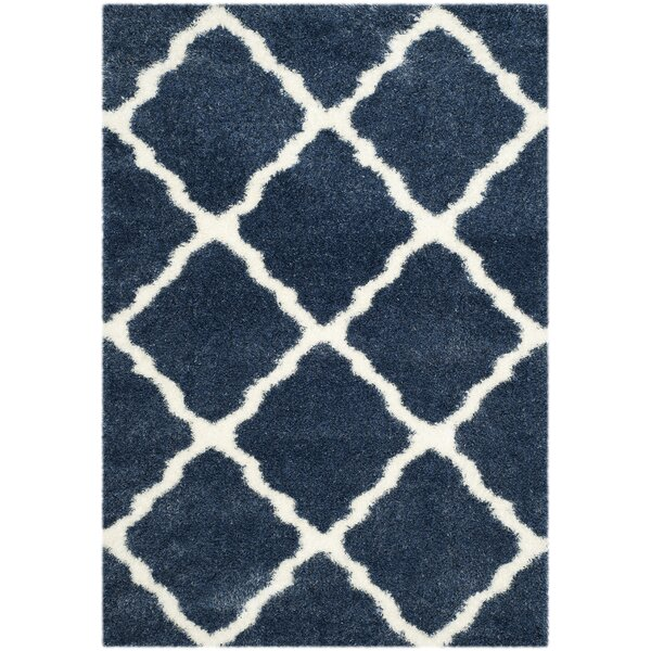 Macungie Blue / Ivory Indoor Area Rug by Gracie Oaks