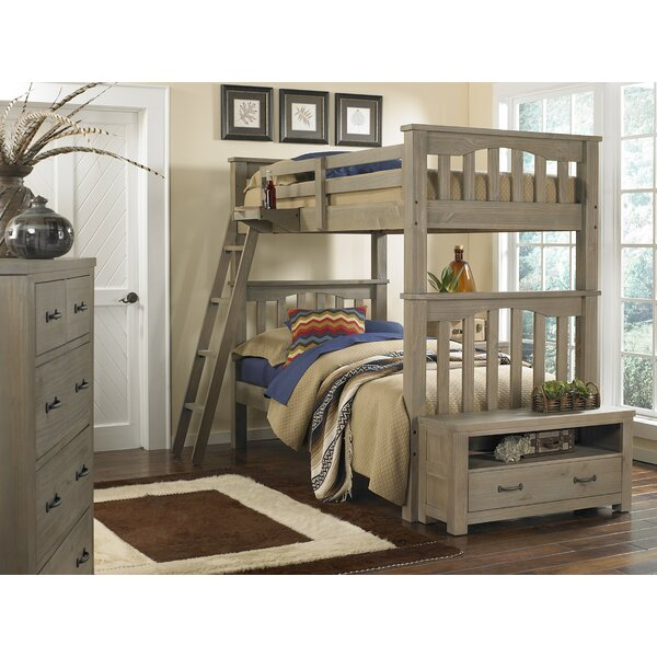 Timberville Twin over Full Bunk Bed with Trundle by Greyleigh