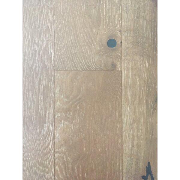 Rome 7.5 Engineered Oak Hardwood Flooring in Sherwood Tan by Dekorman
