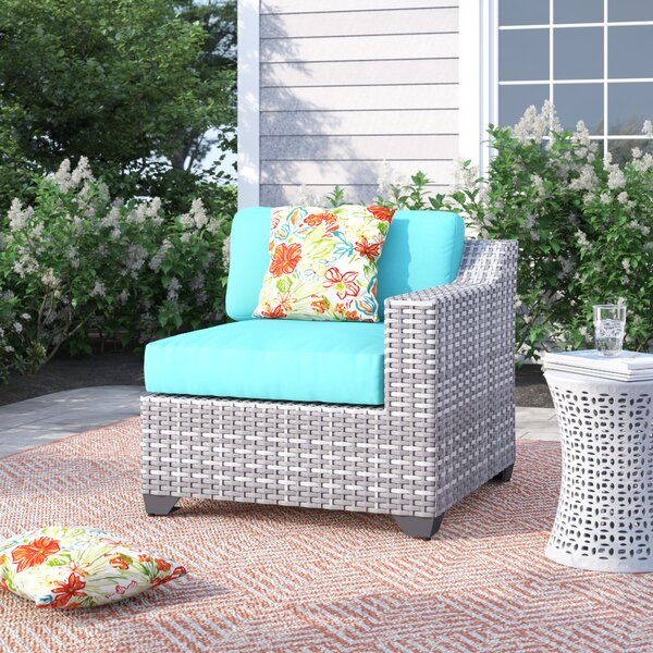 Falmouth Left Arm Patio Chair with Cushions by Sol 72 Outdoor