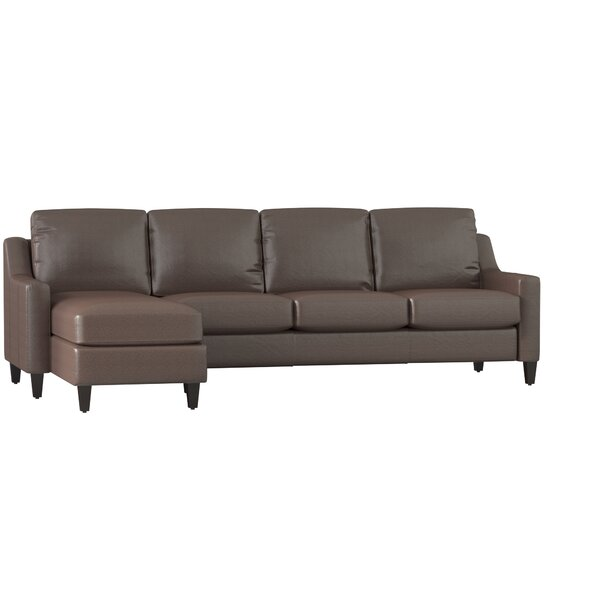 Jesper Leather Sectional By Dwellstudio.