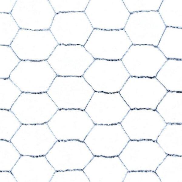 Galvanized Metal Wire Fence by ALEKO