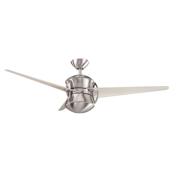 54 Maglione 3 Blade LED Ceiling Fan by Andover Mills