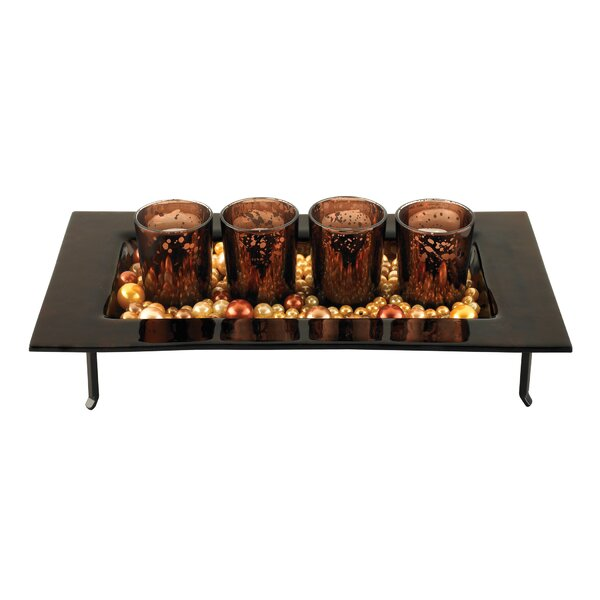 Votives And Tray Candle Holder (Set of 4) by Sterling Industries