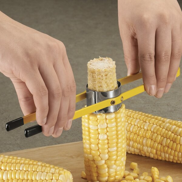 Corn on the Cob Cutter by Miles Kimball