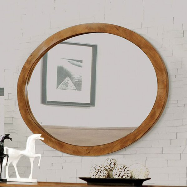 Coby Wall Mounted Oval Accent Mirror by Langley Street