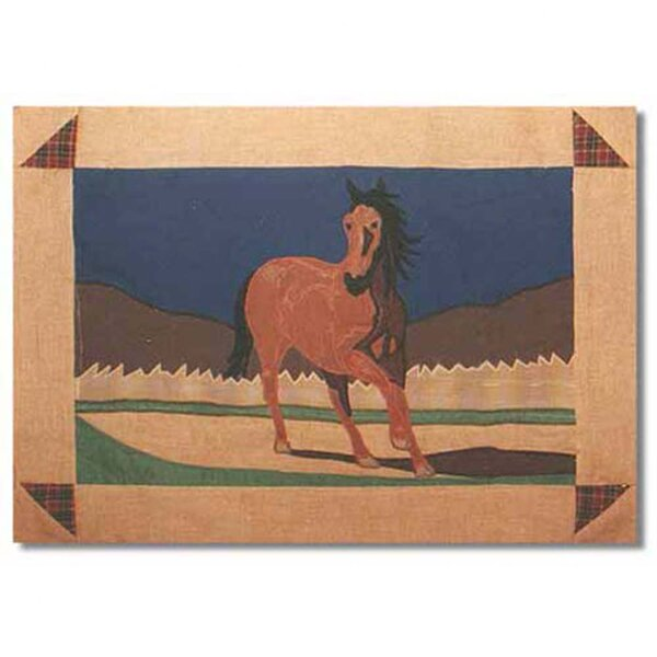 Wild Horses Placemat by Patch Magic