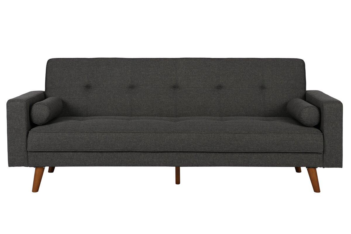 Adrienne sleeper sofa reviews joss main for Adrienne chaise lounge