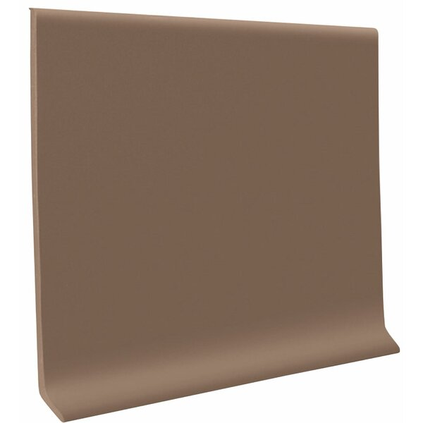 0.08 x 48 x 4 Cove Molding in Toffee (Set of 30) by ROPPE