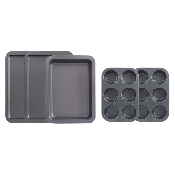 5 Piece Non-Stick Bakeware Set by Range Kleen