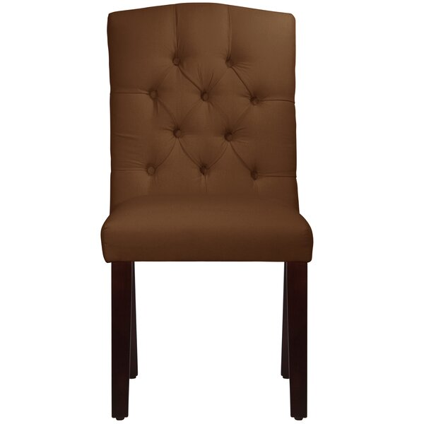 Michigamme Tufted Arched Upholstered Dining Chair by Winston Porter