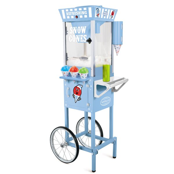 Vintage Snow Cone Cart by Nostalgia