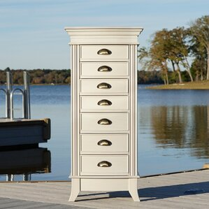 Hillesden Jewelry Armoire with Mirror by Darby Home Co