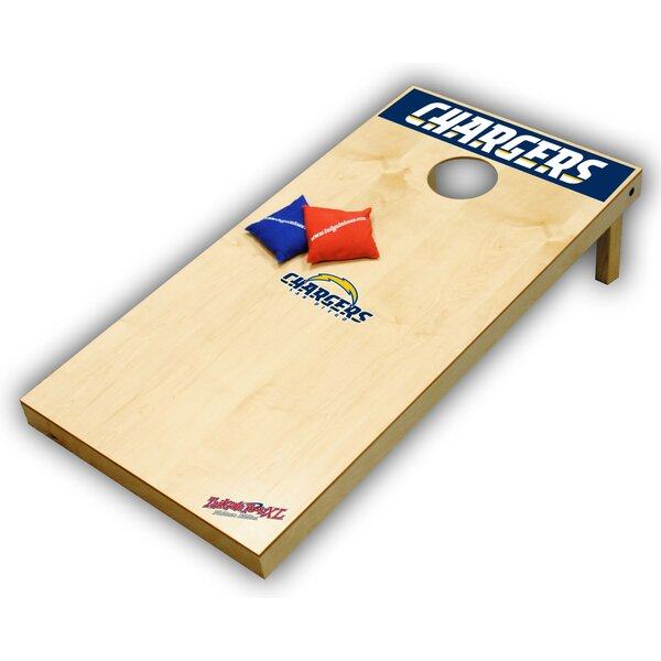 NFL XL Bean Bag Toss Game by Tailgate Toss