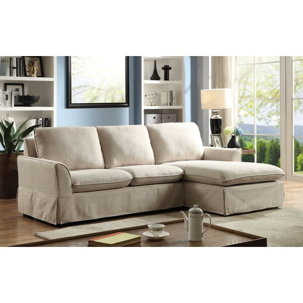 Harper Sectional by Rosecliff Heights