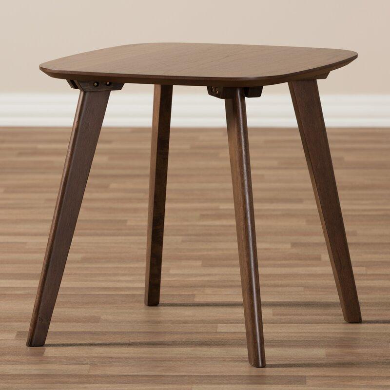 Mia Mid Century Modern Wood End Table