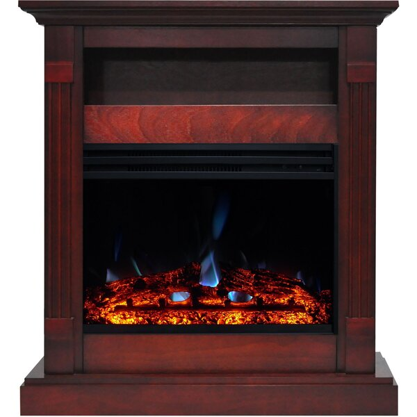 Sienna Electric Fireplace by Loon Peak
