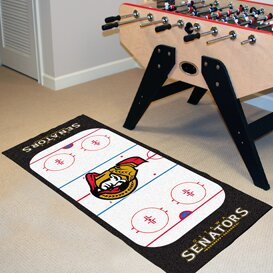 NHL - Ottawa Senators Rink Runner Doormat by FANMATS