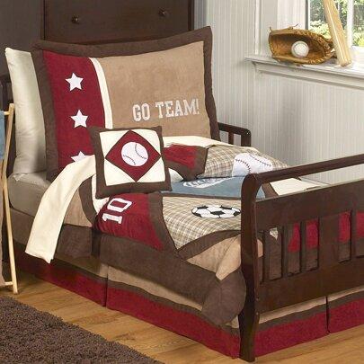 All Star Sports 5 Piece Toddler Bedding Set by Sweet Jojo Designs