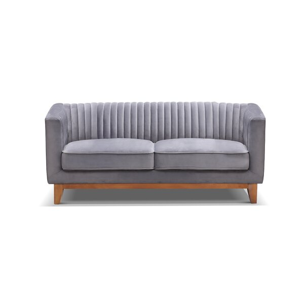 Crofts Loveseat By Bungalow Rose Herry Up