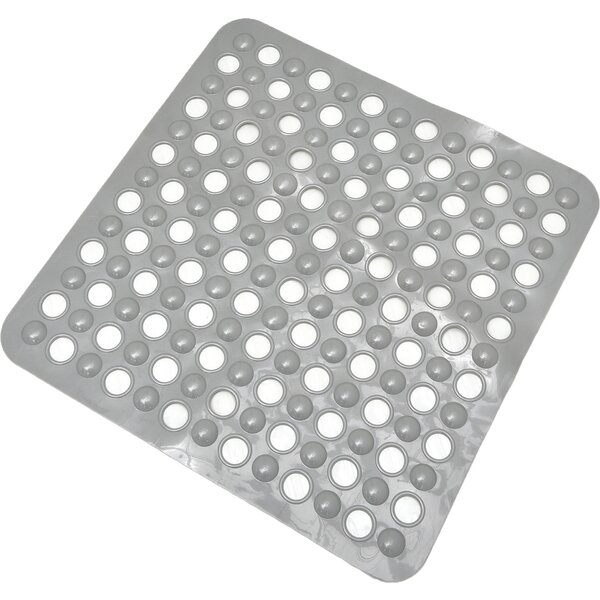 Non Skid Suction Shower Mat by Evideco