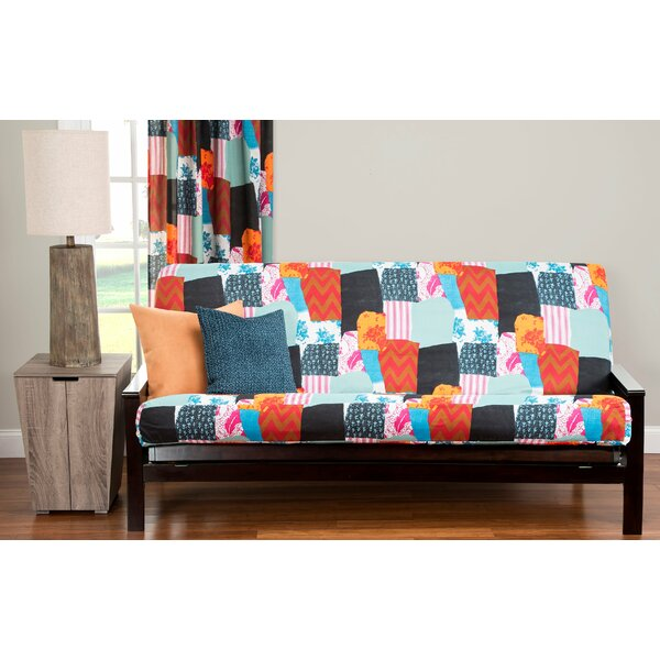 Peckover Box Cushion Futon Slipcover By World Menagerie