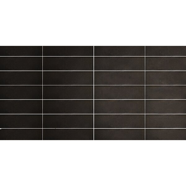 Secret Dimensions 3 x 12 Glass Subway Tile in Glossy Bronze by Abolos