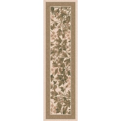 Pastiche Delphi Floral Sand Brown Rug by Milliken