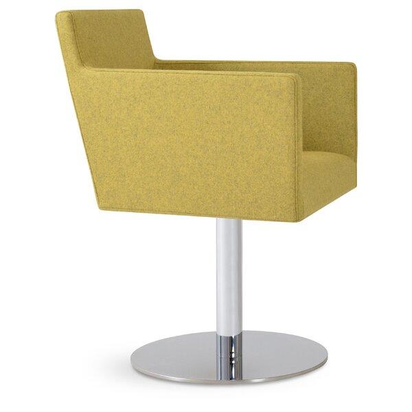 Harput Swivel Round Armchair by sohoConcept