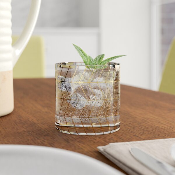Bevis 12 oz. Drinking Glass by Langley Street