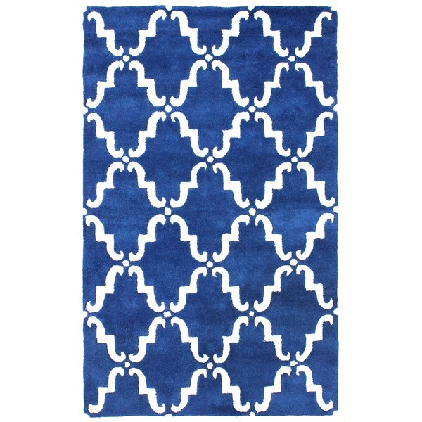 Divina Hand Tufted Blue Area Rug by nuLOOM