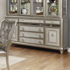 Barrowman Lighted China Cabinet by Astoria Grand