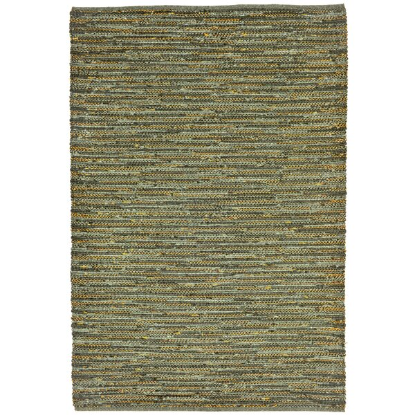 Sardis Hand-Woven Green Indoor/Outdoor Area Rug by August Grove