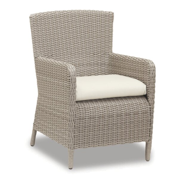 Manhattan Patio Dining Chair with Cushion by Sunset West Sunset West