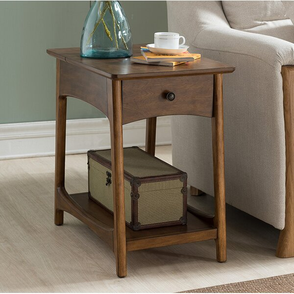 Lilliana Modern End Table by Ivy Bronx