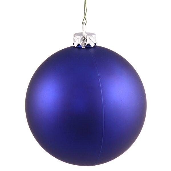 Ball Matte UV Drilled Cap Ornament by Vickerman