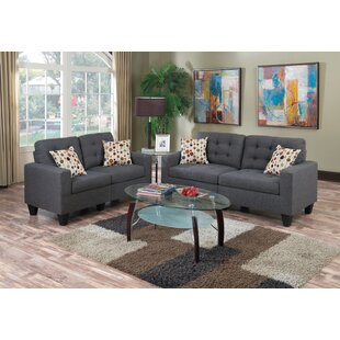 Cassandra 2 Piece Living Room Set by Zipcode Design