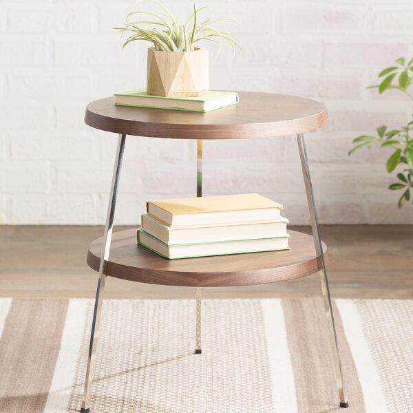 Plotinus End Table by Mercury Row