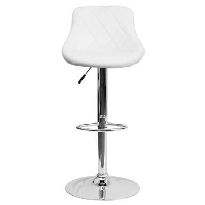 Outstanding Alexandrea Adjustable Height Swivel Bar Stool Uwap Interior Chair Design Uwaporg
