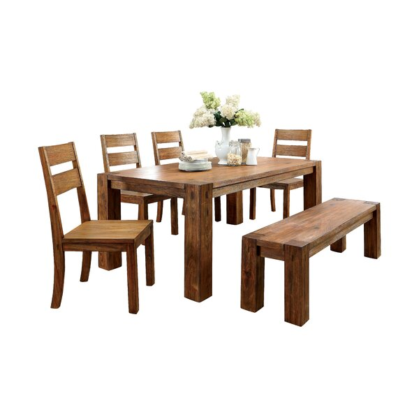Bethanne 6 Piece Dining Set by Hokku Designs