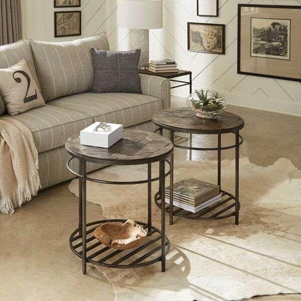 Gillon 3 Piece Coffee Table Set by Bungalow Rose Bungalow Rose