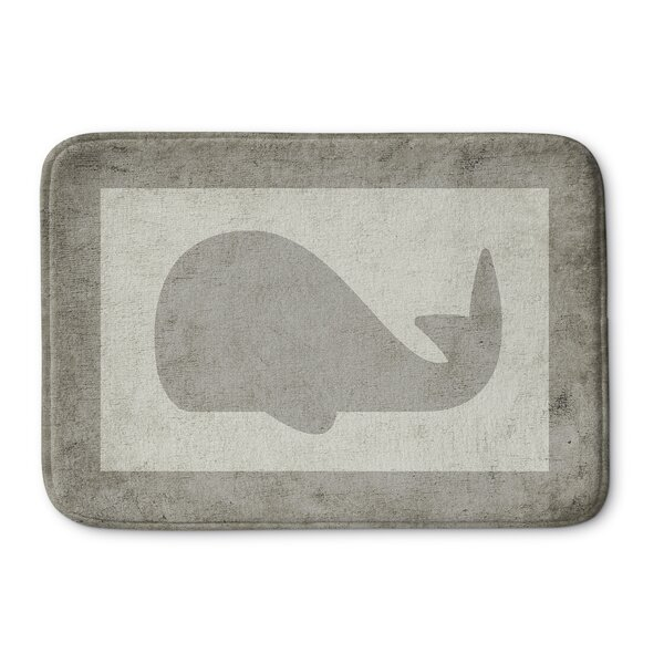 Whale Bath Mat by KAVKA DESIGNS