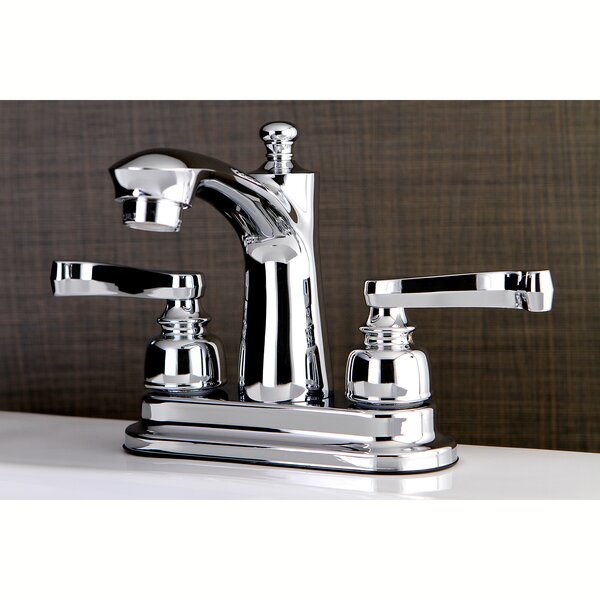 Royale Centerset Faucet with Drain Assembly by Kingston Brass Kingston Brass